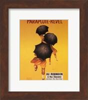 Framed Parapluie-Revel Au Robinson