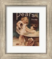 Framed Pear's Soap