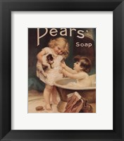 Framed Pear's Soap