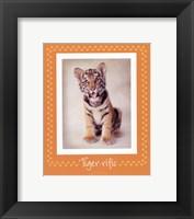 Tiger-Ific Framed Print