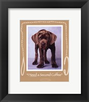 Framed Second Coffee