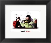 Framed Baby Bugs