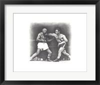Framed Rocky Marciano