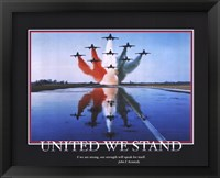 Framed Patriotic-United We Stand