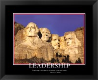 Framed Patriotic-Leadership