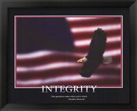 Framed Patriotic-Integrity