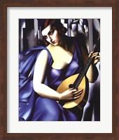 Framed Femme a Guitare