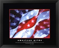 Framed American Pride-Together They Gave
