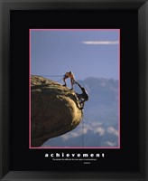 Framed Achievement