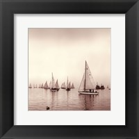 Framed Sailing I