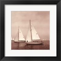 Sailing VI Framed Print