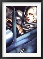 Framed Autoportrait