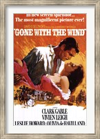 Framed Gone With The Wind - clark gable