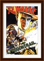 Framed Oregon Trail