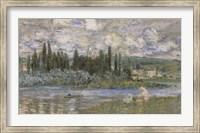 Framed Vertheuil Sur Seine