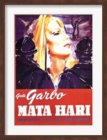 Framed Mata Hari