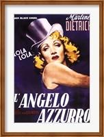 Framed L'angelo Azzurro