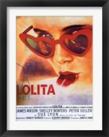 Framed Lolita Heart Sunglasses