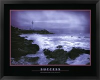 Framed Success - water