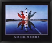 Framed Working Together