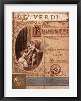 Framed Verdi