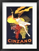Framed Cinzano Brut