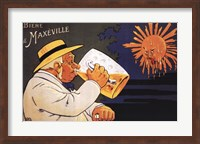 Framed Maxeville Beer