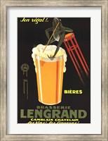 Framed Brasserie Lengrand
