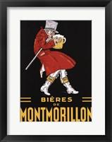 Framed Bieres De Montmorillon