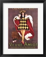 Framed Veuve Amiot