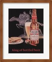 Framed Budweiser