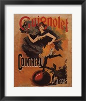 Framed Guignolet Cointreau