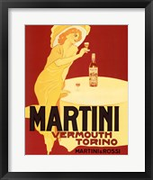Framed Martini Vermouth Torino