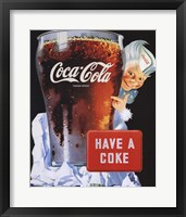 Framed Coca-Cola Have a Coke