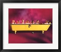 Framed Yellow Tub