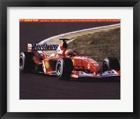 Framed Ferrari F1-2003-Ga