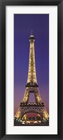 Framed Paris Eiffel Tower