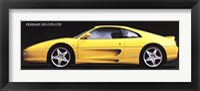 Framed Ferrari 355 Gts-Gtb