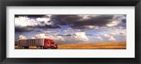 Framed Truck in the Field