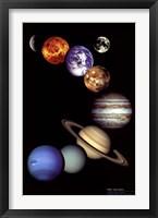 Framed NASA - Solar System