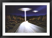 Framed Ufo Invasion