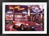 Framed Corvette, 1958 - Diner