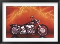 Framed Motorcycle - Custom, 1997