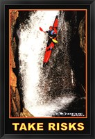 Framed Take Risks - Extreme Sport