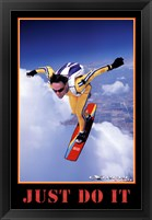 Framed Just Do It - Extreme Sport