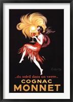 Framed Cognac Monnet