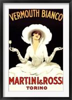 Framed Martini Rossi
