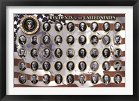 Framed American Presidents
