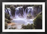 Framed Waterfall