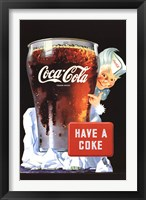 Framed Have a Coke